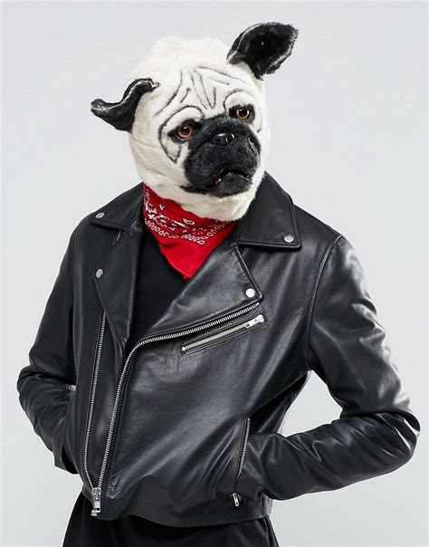 pug mask gifts mr pug mask at asos