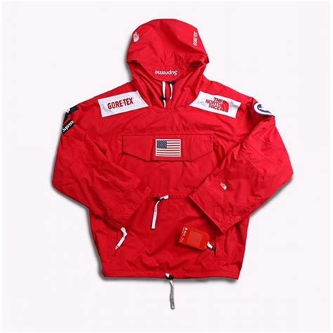 Supreme Jacket supreme the tnf trans antartica goretext jacket