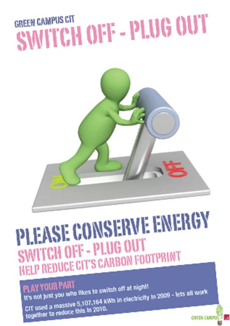 Do Ls Use Electricity When Turned by Its Cit Ie Saving Energy