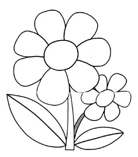 imagenes en blanco para colorear de flores flores para colorear