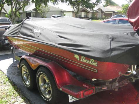 custom boat covers aurora got new strapless sunbrella supreme aurora cover bass