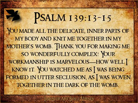 psalm 139 1 18 bible snips books linkster signs of the times 04 13 13