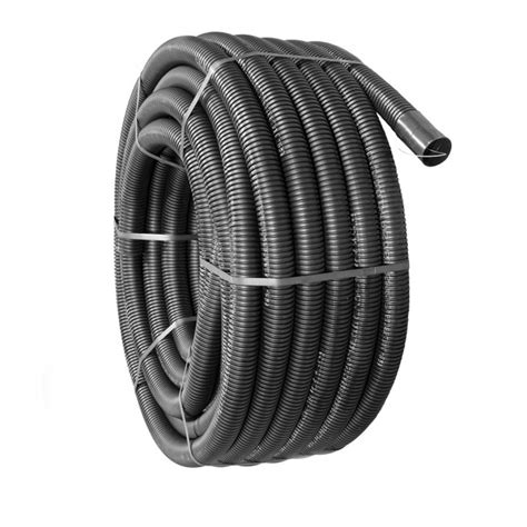50mm x 50m black twinwall electric cable duct drain depot