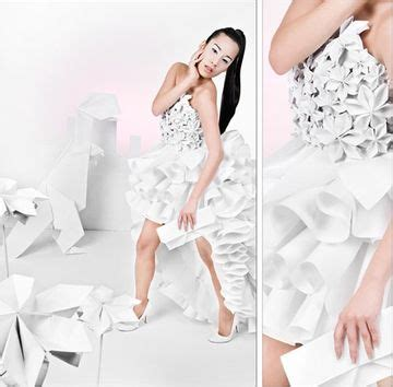 Origami Fashion Designers - 35 origami inspired fashion designs pixel77