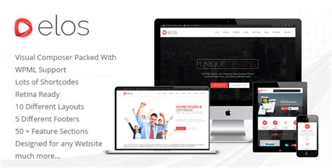 Codecanyon Visual Composer Background Sliders Free Update elos v1 2 responsive multipurpose theme free