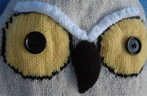 knitted owl pattern february 2012 knits r us