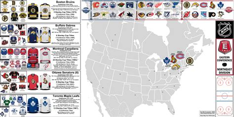 Mountain West Mens Basketball Standings by Nhl Eastern Conference Northeast Division Map And Team
