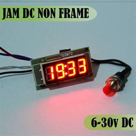 Jam Led Motor jam digital led mobil dan motor penunjuk waktu yang