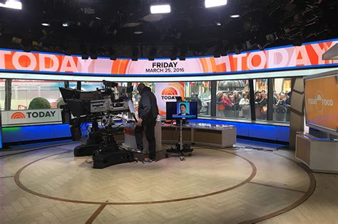today show set paul reubens on the today show look at his behind the