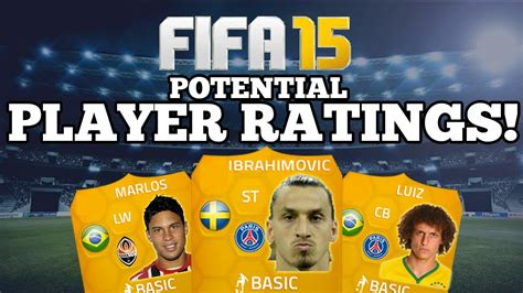 players with unique hair styles in fifa 15 player ratings fifa 15 fifa 15 potential player ratings