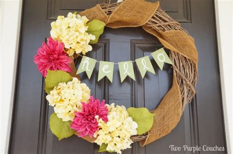 diy spring wreath 35 gorgeous diy spring wreaths the thinking closet