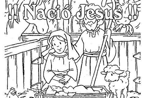 imagenes el nacimiento de jesus para colorear imagenes para colorear del nacimiento de jesus
