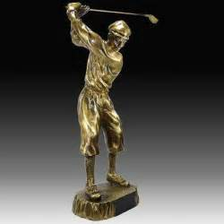 Gold Name Plate Golf Trophies