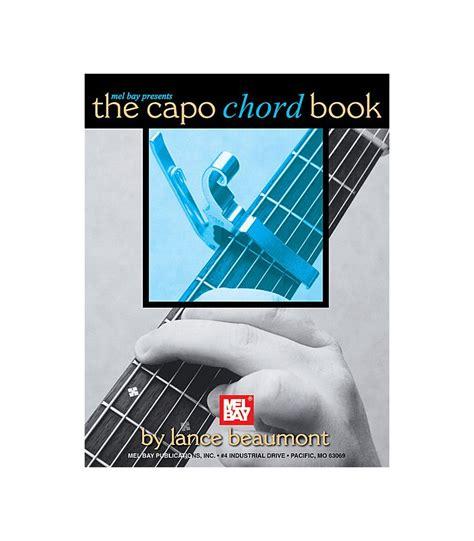 Guitar Chord Book capo chord book