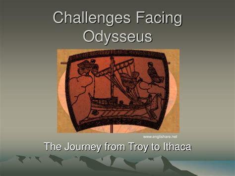 odysseus challenges ppt challenges facing odysseus powerpoint presentation