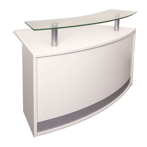 Small Receptionist Desk Evolve Small Reception Desk Value Office Furniture