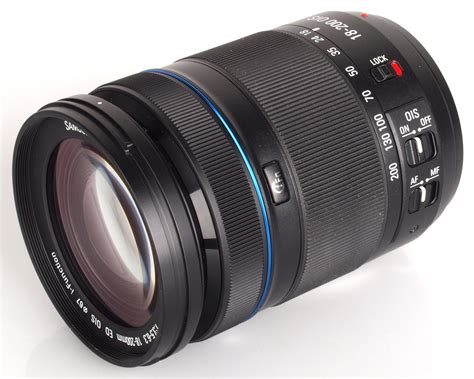 samsung 18 200mm f 3 5 6 3 ed ois lens review