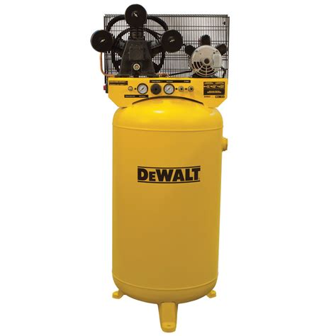 dewalt vertical air compressor 80 gallon hi flo single stage cast iron 4 7 hp model
