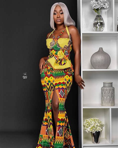 times efia odo stunned  african prints