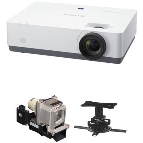 Lcd Projector Sony Dx102 sony vpl ex345 4200 lumen xga lcd projector with ceiling mount