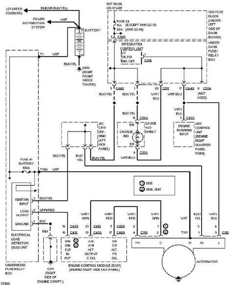1994 acura integra wiring diagram 1994 integra wiring