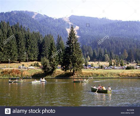 live brasov lake poiana brasov near brasov brasov county