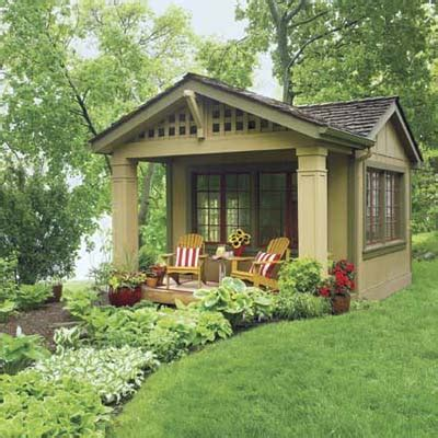 little house in the backyard from outbuilding to backyard hangout 18 ways to turn
