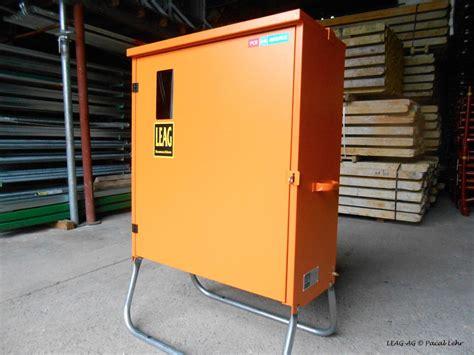 armoire electrique de chantier leag baumaschinen galerie photos machines et mat 233 riel