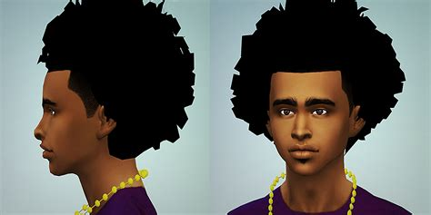 african american sims 4 sims 4 afro hair hairstyle gallery