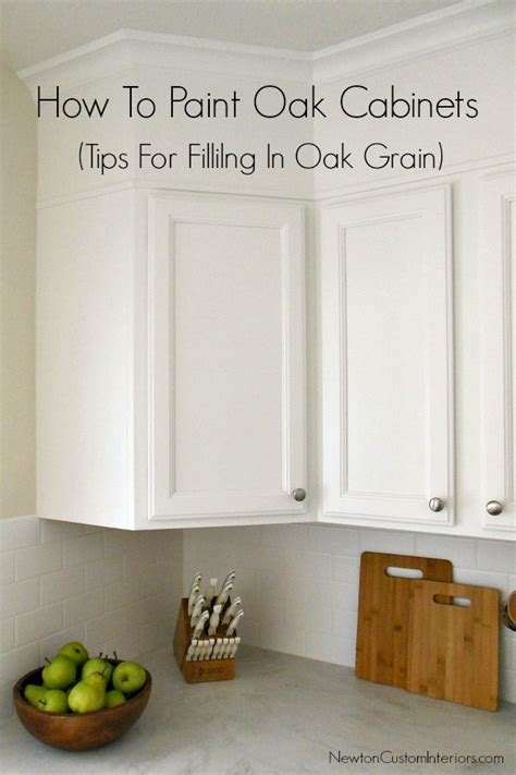 how to paint oak kitchen cabinets white how to paint oak cabinets