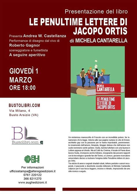 Libreria Boragno Busto Arsizio Presentazione Libro Di Michela Cantarella A Busto