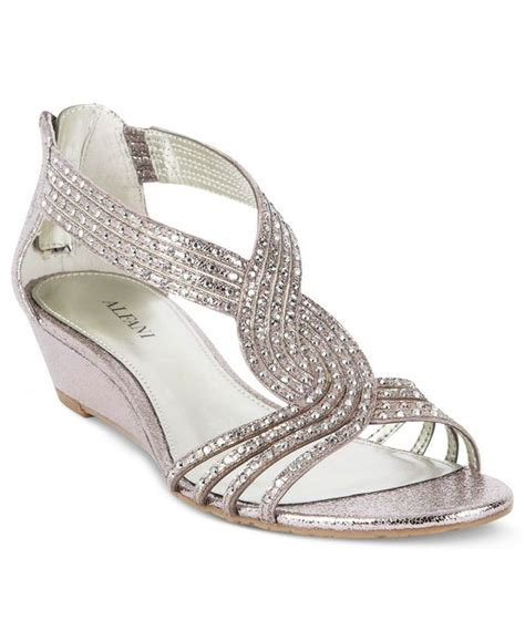 wedding weekend macy s alfani genesis wedge sandals