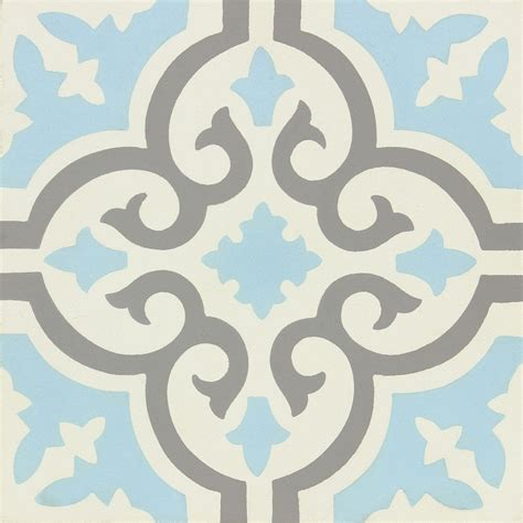 Carreaux De Ciment Blanc by Carreau De Ciment 233 Poque D 233 Cor Elise Gris Bleu Et