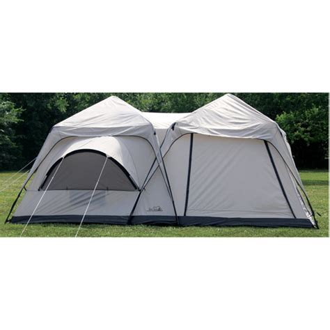 Cabin Dome Tent by Texsport Peaks Two Room Cabin 213 Quot X 10 Dome Tent