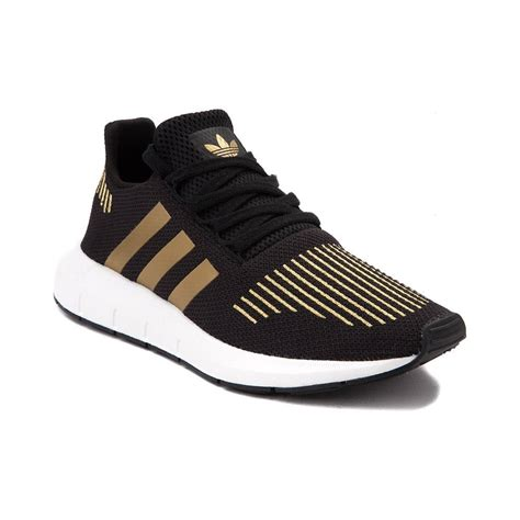 womens adidas run athletic shoe black 436468