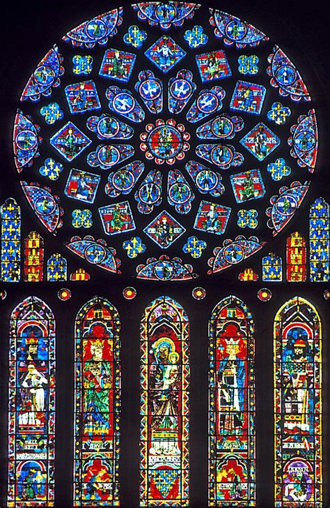 how to make a stained glass l church windows are called