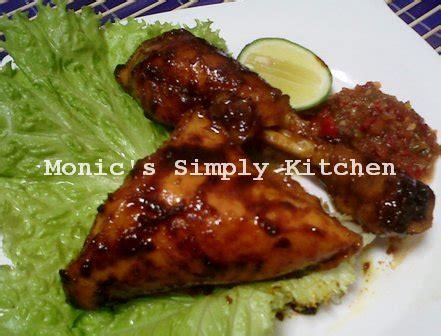 Bumbu Ikan Bakar Unie Que Masakan Padang ayam bakar dan gulai ala uni nila monic s simply kitchen