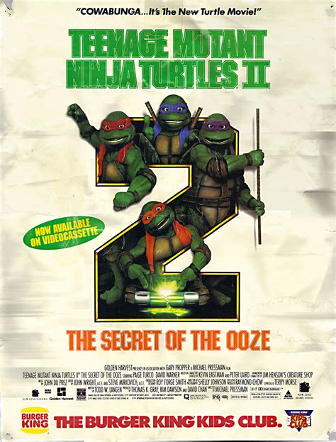 The Secret Of Ooze 60ml 24 panels 81 mutant turtles ii the secret