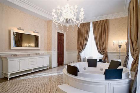 neo classic style  art deco elements light room