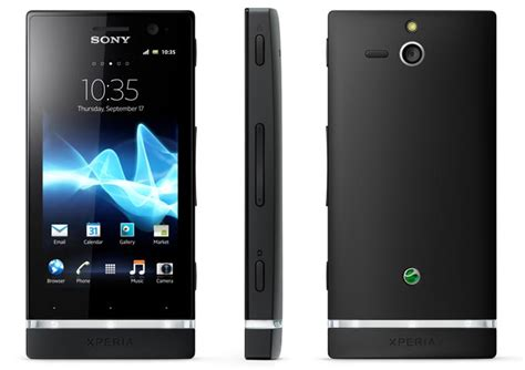 sony android sony xperia u android phone announced gadgetsin