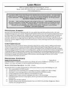 Resume Sle For Customer Service Representative by Resume Cover Letter Bookkeeper Cover Letter Sle