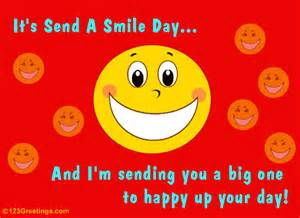 happy up your day free send a smile day ecards greeting cards 123 greetings