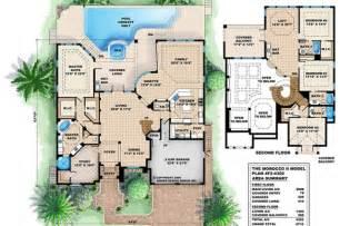Mediterranean Style Floor Plans floor plans for these duplex house plans and mediterranean house plans