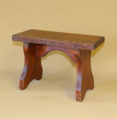 Antique Stool by Small Pine Stool R3440 Antiques Atlas