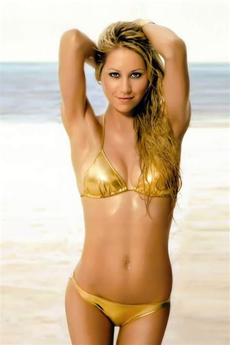 hot women posters anna kournikova bikini hot sexy girl tennis player poster