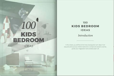 Get A Free Ebook Interior Design Ideas | 100 kids bedroom ideas get inspired with these free ebook