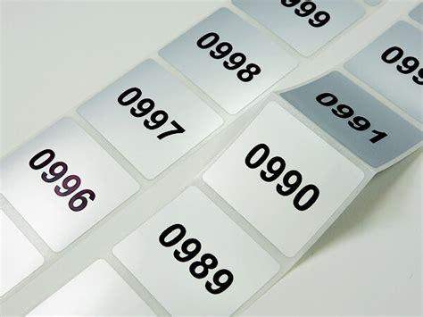 Etiketten Drucken Fortlaufender Nummerierung seriennummer etiketten mit fortlaufender nummerierung