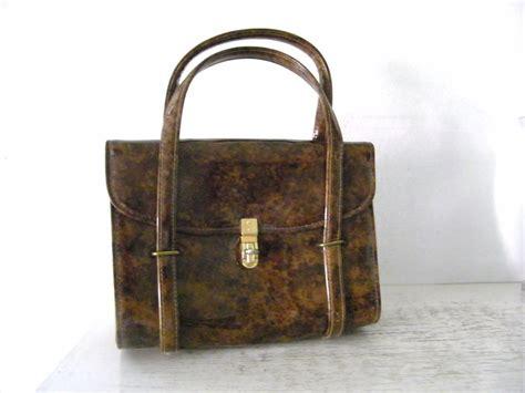 cara membuat zipper brooch vintage cara tortoise brown patent handbag kitchengarden