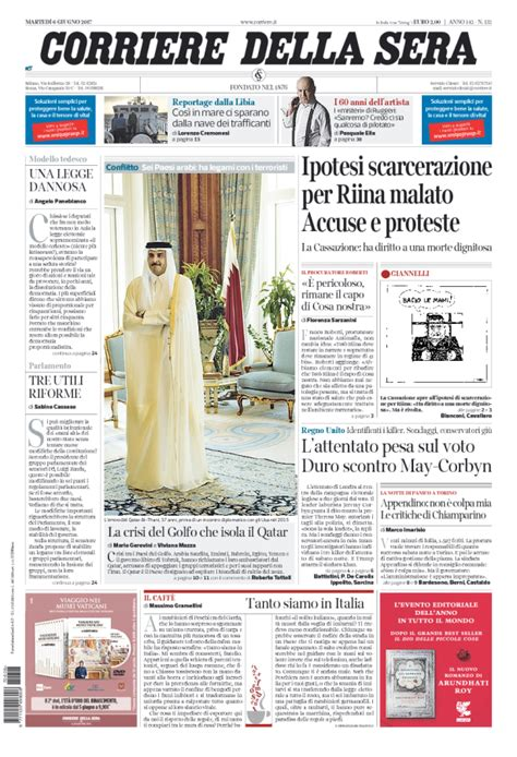 giornali di cucina in edicola edicola italiana i giornali di oggi cronache della cania