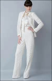 wedding dresses suits simple and formal pant suits for wedding ocassion